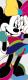 Фотообои Komar Minnie Colorful 1-422 (73x202) -