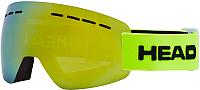 Горнолыжная маска Head Solar Fmr L Unisex Lime / 394417 -