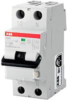 Дифференциальный автомат ABB DS201 1P+N C 20А 30mA 6кА 2М / 2CSR255040R1204 -