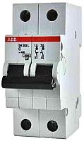 Выключатель автоматический ABB S 202 2P С 10А 6кА 2M / 2CDS252001R0104 -