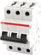 Выключатель автоматический ABB S 203 3P С 63А 6кА 3M / 2CDS253001R0634 -