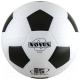 Футбольный мяч Novus Start (размер 5, белый/черный) -