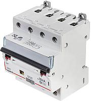Дифференциальный автомат Legrand DX3 4P С 10A 30мА 6kА 4М / 411185 -