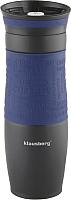 Термокружка Klausberg КВ-7102 (500мл, синий) -