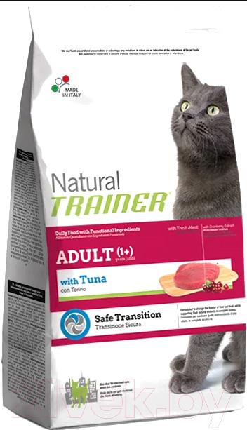 Корм для кошек Trainer, Natural Adult Tuna (7.5кг), Италия  - купить со скидкой