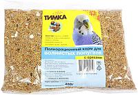 Корм для птиц Тимка С орехами для волнистых попугаев (400г) -