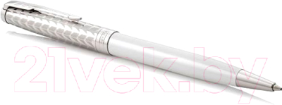 Ручка шариковая Parker Sonnet Metal and Pearl Lacquer CT 1931550