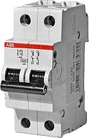 Выключатель автоматический ABB S 202 2P С 0.5А 6кА 2M / 2CDS252001R0984 -