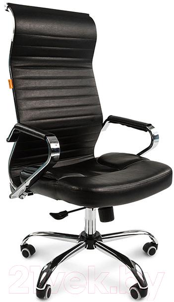 Купить Кресло офисное Chairman, 700 (экопремиум, черный), Россия