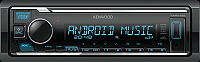 Бездисковая автомагнитола Kenwood KMM-125 -