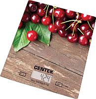 Кухонные весы Centek CT-2462 (вишня) -