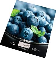 Кухонные весы Centek CT-2462 (голубика) -