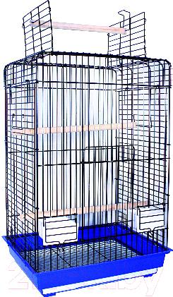 Купить Клетка для птиц Золотая клетка, 830A, Китай, синий