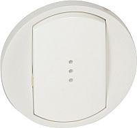 Лицевая панель для выключателя Legrand Celiane 68003 с индикацией (белый) -