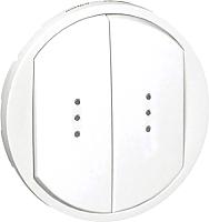 Лицевая панель для выключателя Legrand Celiane 68004 с индикацией (белый) -