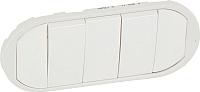 Лицевая панель для выключателя Legrand Celiane 68011 (белый) -
