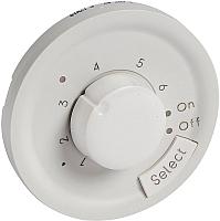 Лицевая панель для термостата Legrand Celiane 68249 с датчиком (белый) -
