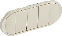 Лицевая панель для выключателя Legrand Celiane 66203 (слоновая кость) -