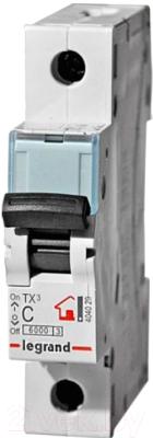 Выключатель автоматический Legrand TX3 1P C 32A 6кА 1M / 404031