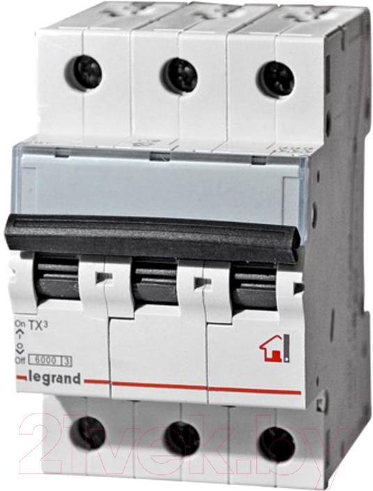 Купить Выключатель автоматический Legrand, TX3 3P C 25A 6кА 3M / 404058, Польша