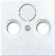 Лицевая панель для розетки ABB Basic 55 1724-0-4283 (белый) -
