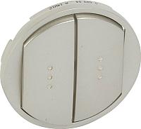 Лицевая панель для выключателя Legrand Celiane 68304 (титан) -