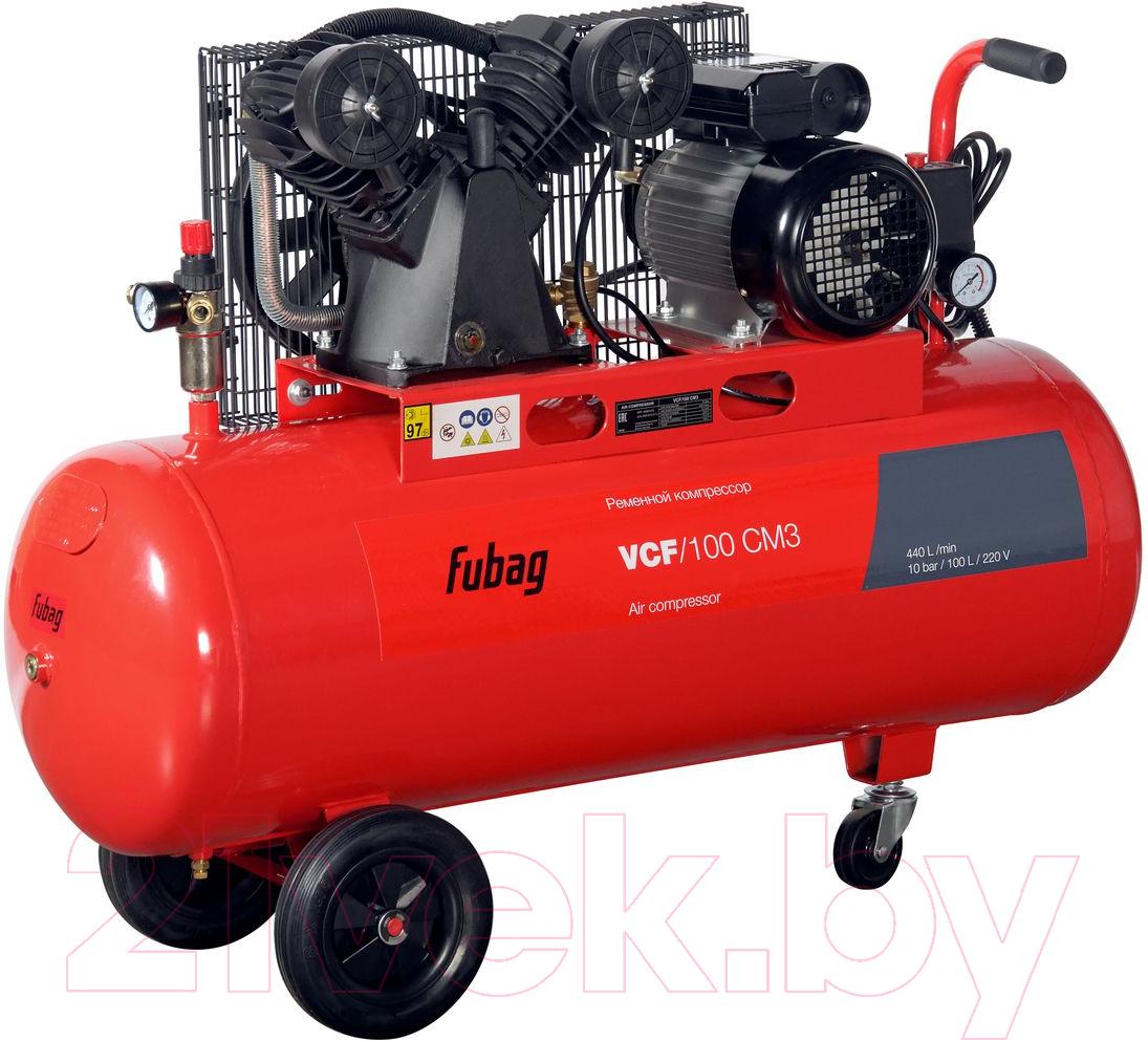 Купить Воздушный компрессор Fubag, VCF/100 CM3 (45681472), Китай