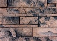 Декоративный камень Polinka Сланец Карпатский коричневый мрамор 1404М (395×95×18) -