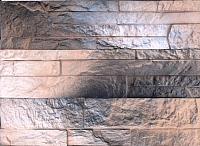 Декоративный камень Polinka Сланец Карпатский коричневая пудра 1404П (395×95×18) -