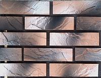 Декоративный камень Polinka Кирпичный скол коричневая пудра 0804П (225×59×13) -