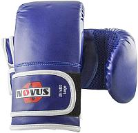 Перчатки для единоборств Novus LTB-16302 (L, синий) -