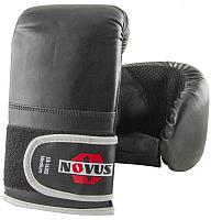 Перчатки для единоборств Novus  LTB-16302 (L, черный) -