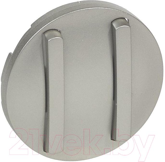 Купить Лицевая панель для выключателя Legrand, Celiane 65102 (титан), Франция, пластик, Celiane (Legrand)