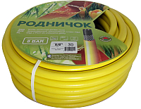 Шланг поливочный РинаПластик Родничок 3/4 (20м, желтый) -