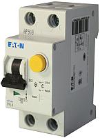 Дифференциальный автомат Eaton PFL4 1Р+N 40А 30мА С 4.5кА 2М / 293302 -