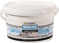 Эмаль Лакра Акриловая универсальная (2.5кг, белый матовый) -