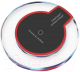 Зарядное устройство беспроводное iCharge FT-K9 (черный/красный) -