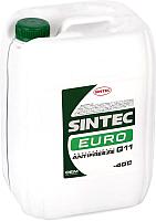 Антифриз Sintec Euro G11 / 800516 (10кг, зеленый) -