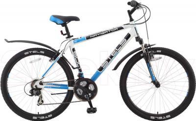 Велосипед Stels Navigator 600 (17, белый) - общий вид