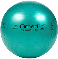 Фитбол гладкий Qmed ABS Gym Ball 65 см (зеленый) -