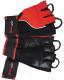 Перчатки для пауэрлифтинга BioTechUSA Memphis CIB000566 (XL, красный/черный) -