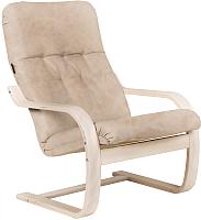 Кресло мягкое Импэкс Сайма (белая береза/карамель) -