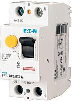 Устройство защитного отключения Eaton PF7 2P 100A 30мА 10кА 2M G/A / 166798 -