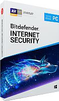 ПО антивирусное Bitdefender Internet Security 2019 Home/3Y/5PC (XL11033005) -