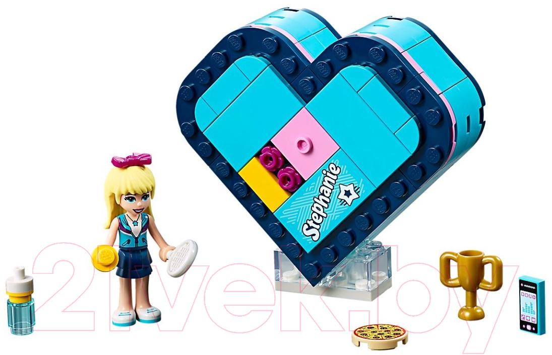 Купить Конструктор Lego, Friends Шкатулка-сердечко Стефани 41356, Китай, пластик