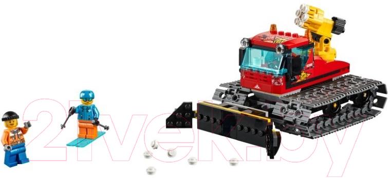 Купить Конструктор Lego, City Police Снегоуборочная машина 60222, Китай, пластик