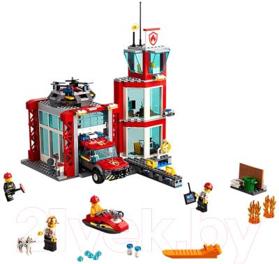 Lego City Police Пожарное депо 60215 Конструктор купить в ...