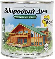Защитно-декоративный состав Здоровый дом Палисандр (800мл) -