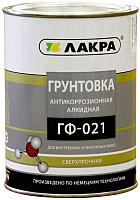 Грунтовка Лакра ГФ-021 (1кг, красно-коричневый) -