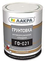 Грунтовка Лакра ГФ-021 (2.5кг, красно-коричневый) -